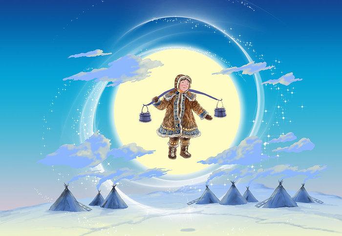 Тематическая подборка: Сказки Северного сияния